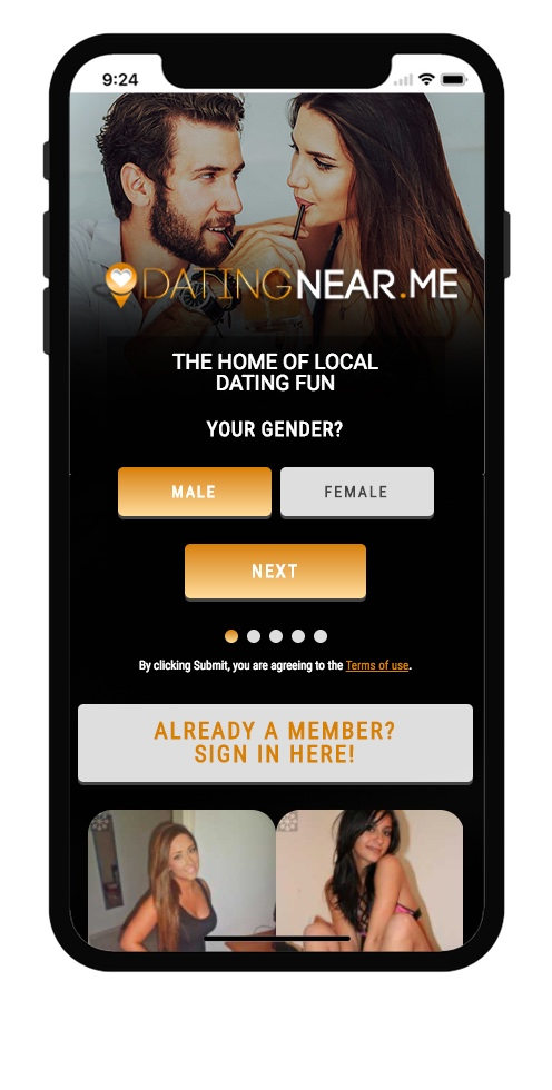 DatingNearMe-iPhoneX